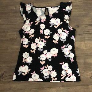 Kate Spade New York Flutter Sleeve Top